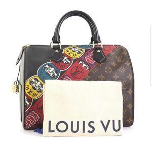 Louis Vuitton Monogram Canvas Speedy 30 M43505